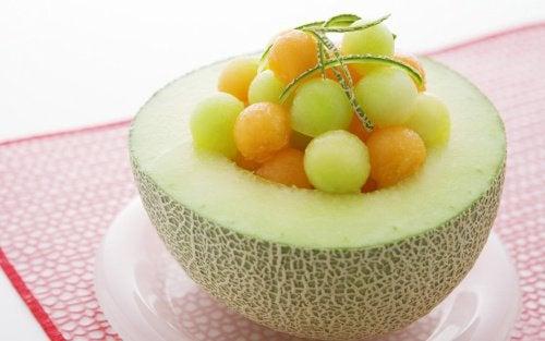 Sałatka z melona