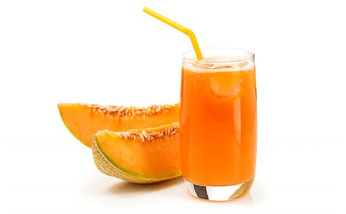 Świeży sok z melona