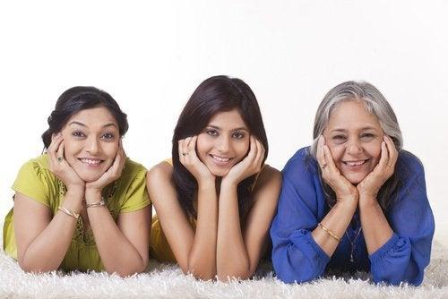 trzy generacje kobiet