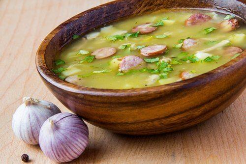 Zupa z czosnku na kaszel
