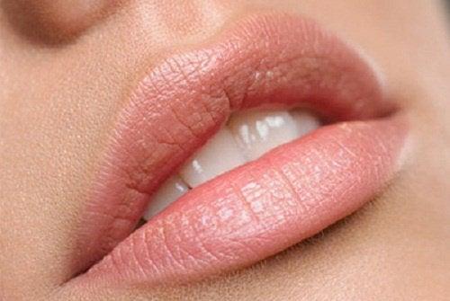 ładne usta