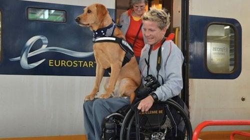 Marieke z psem