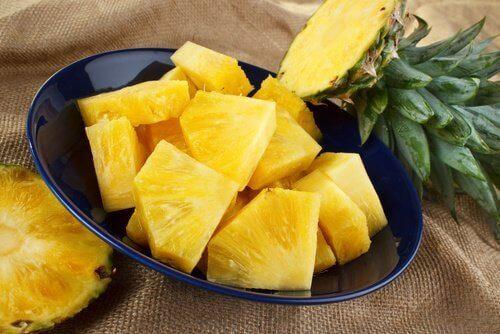 ananas na przeziębienia i kaszel
