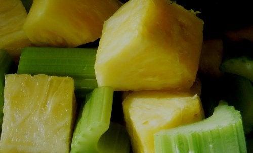 artretyzm a jedzenie ananasów