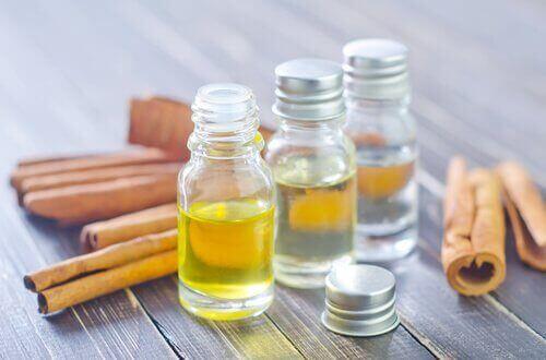 cynamon i olej