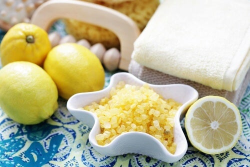 Cytryna i sól