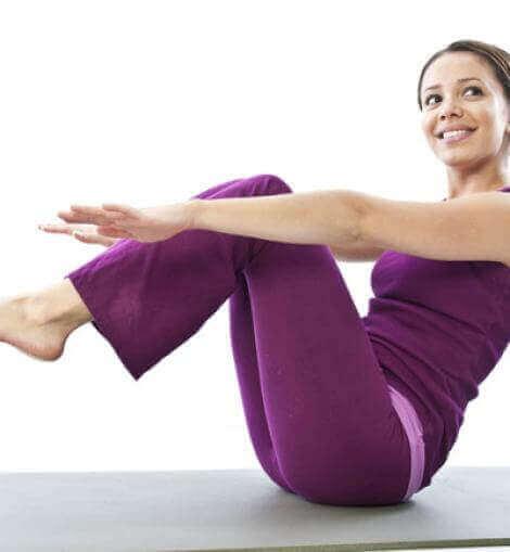 Ćwiczenie na mocny brzuch