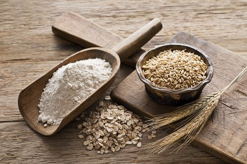 Mąka owsiana - łagodzenie objawów łuszczycy