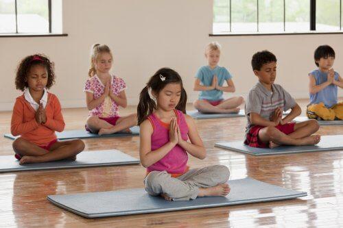 Medytacja dzieci