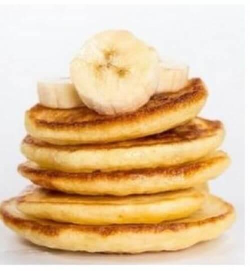 Naleśniki z banana bez glutenu, cukru i laktozy