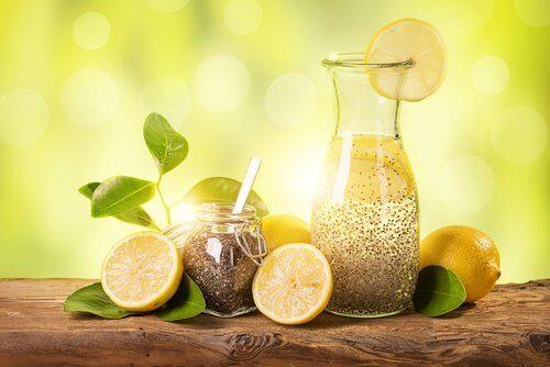 Nasiona chia i sok z cytryny –  Samo zdrowie