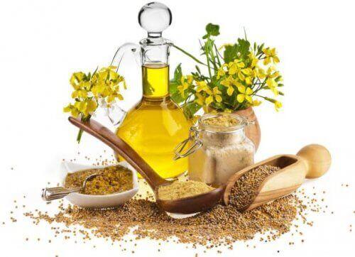 olej musztardowy