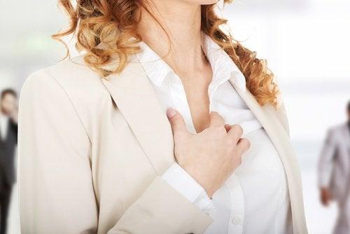 Kobieta: palpitacje serca