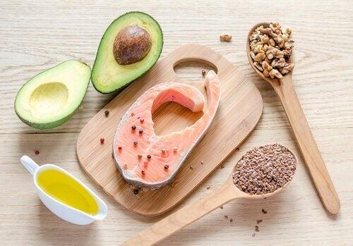 Produkty bogate w kwasy tłuszczowe omega-3 - praca siedząca