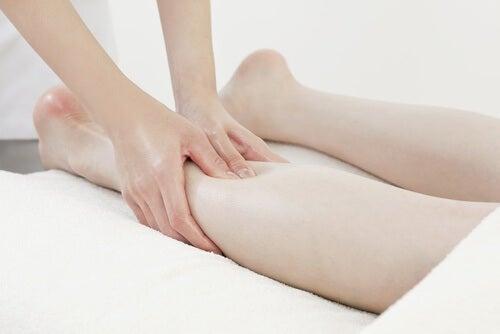 Retencja płynów - masaż