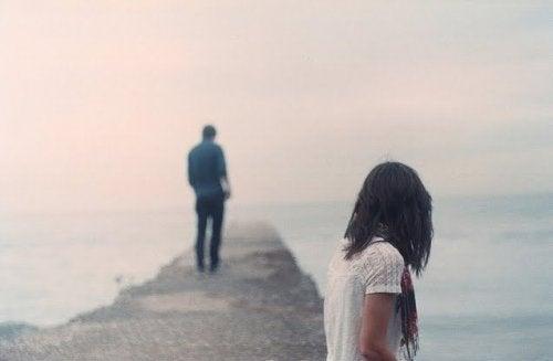 Rozstająca się para