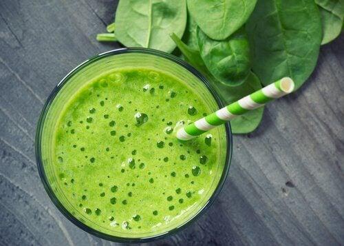 Zielony sok na nerki