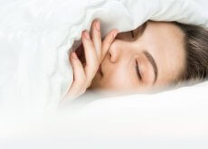 spiaca-kobieta