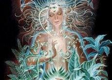 mistyczna kobieta