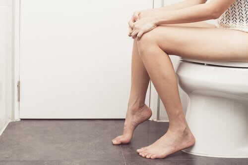 W toalecie