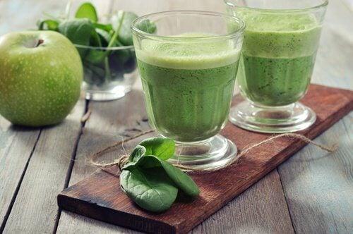 Zielony koktajl na trójglicerydy