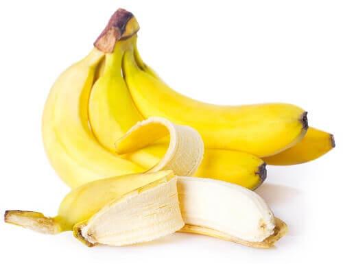 kilka bananów