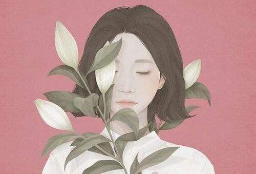 Dziewczyna z lilią