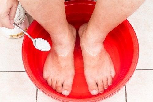 Kąpiel stóp