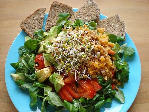 Kiełki i warzywa