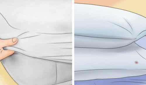 Poduszki i materace: jak je wybielić w domu?
