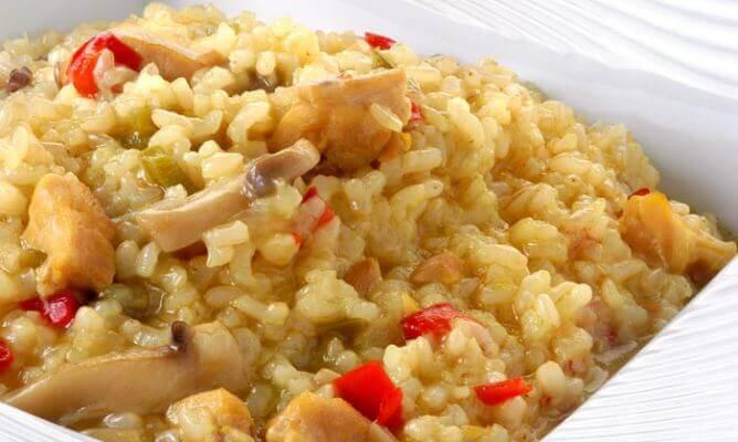 ryż z kurczakiem - zdrowe kolacje