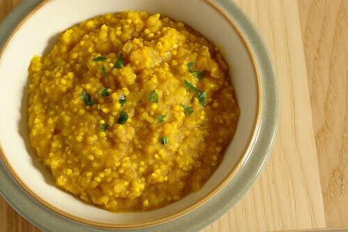 ryż i kurkuma
