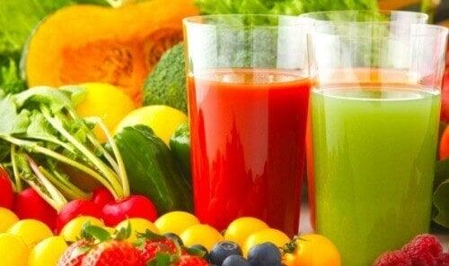 soki i warzywa