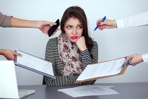 stres i za dużo obowiązków