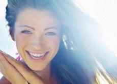 Uśmiech - oznaka szczęścia