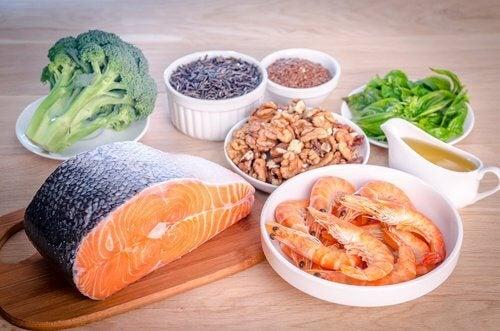 Produkty bogate w zdrowe kwasy tłuszczowe