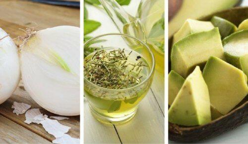 Kilka zdrowych produktów spożywczych