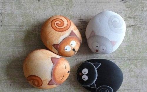Zwierzęta na kamieniach