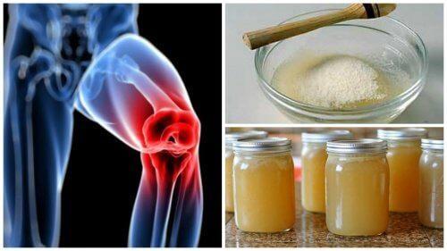 Bóle stawów: lekarstwo z żelatyny