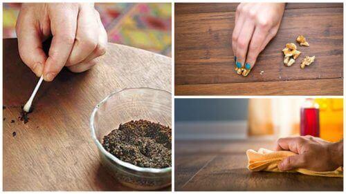 Meble wykonane z drewna – 8 sposobów na zarysowania