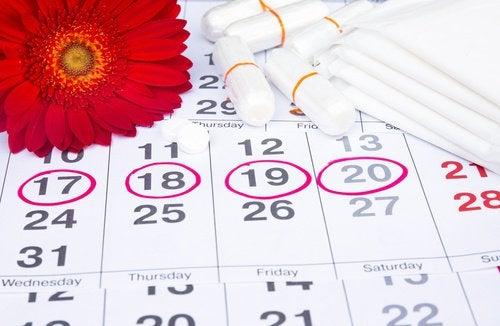 kalendarzyk miesiączkowy
