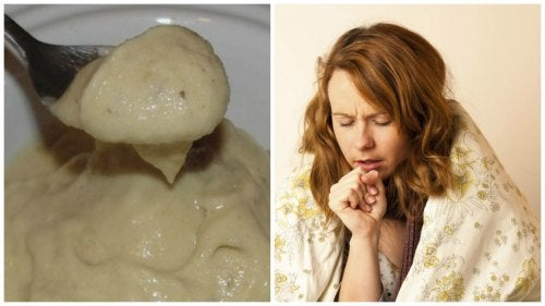 Krem bananowo-miodowy na kaszel i przeziębienie
