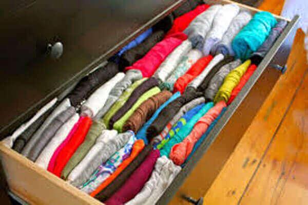 Porządek w szafkach