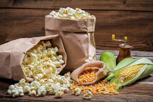 Prażona kukurydza