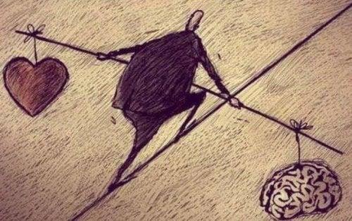Równowaga - serce a rozum