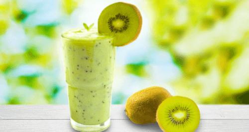 smoothie z kiwi