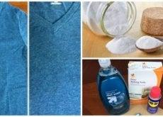 Sposoby na tłuste plamy na odzieży