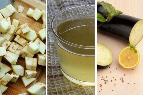 Woda z bakłażana z cytryną - 5 powodów, by ją pić