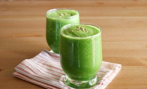 Zielone smoothie a zgrabna sylwetka