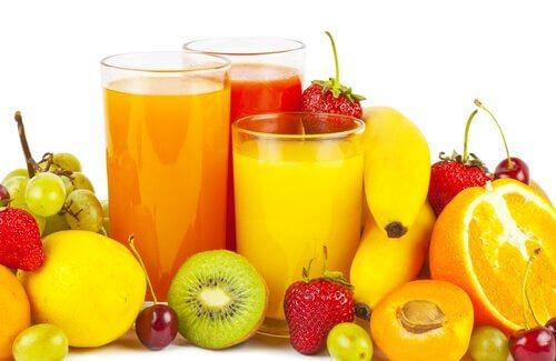 Cytrusy, owoce i soki